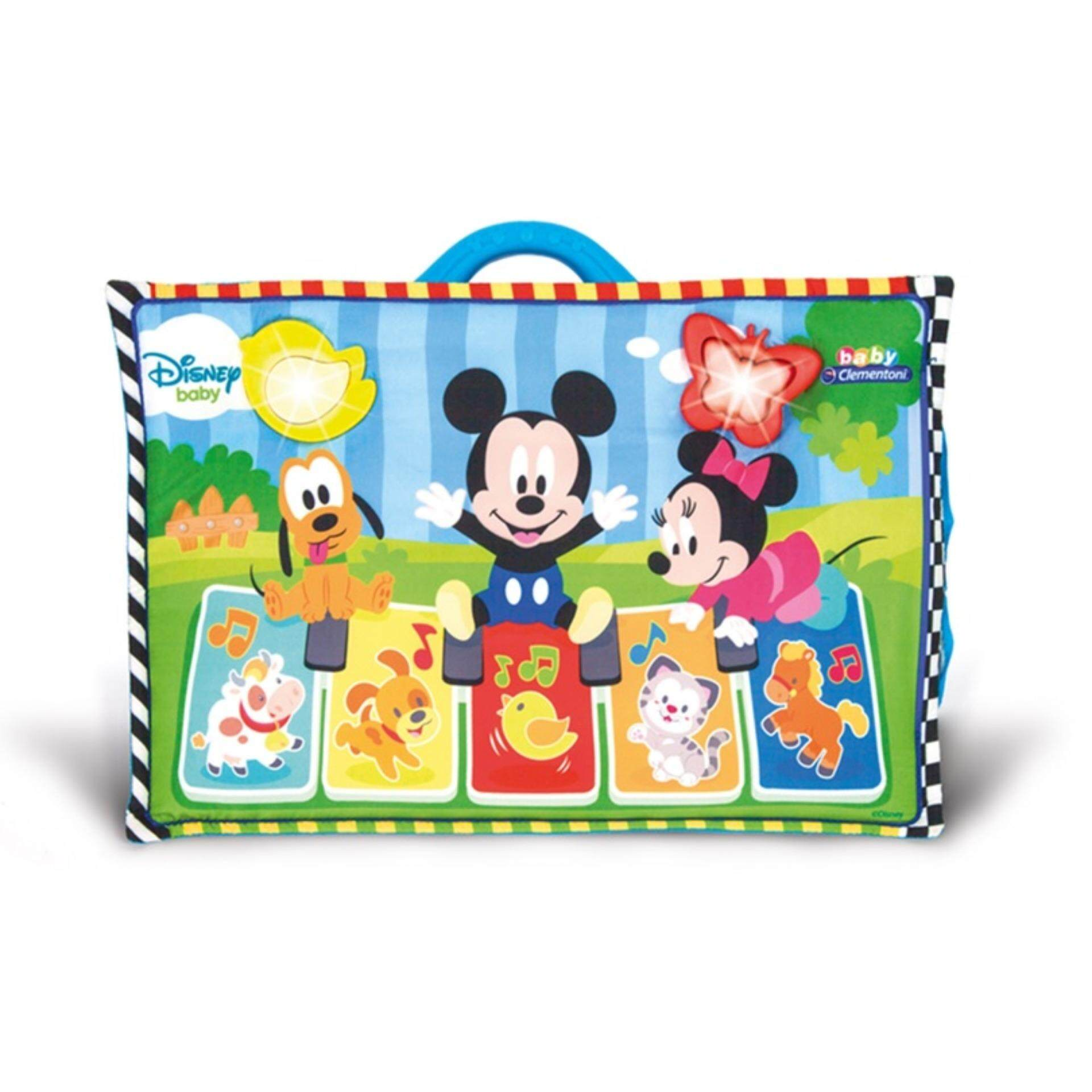 Disney Baby Developmental Hanging Cot Panel Musical Toys - Mickey toys education