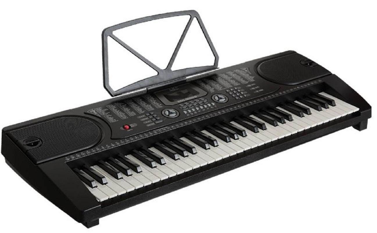 61 keys professional electronic piano organ portable keyboard with ac adaptor lazada. Black Bedroom Furniture Sets. Home Design Ideas