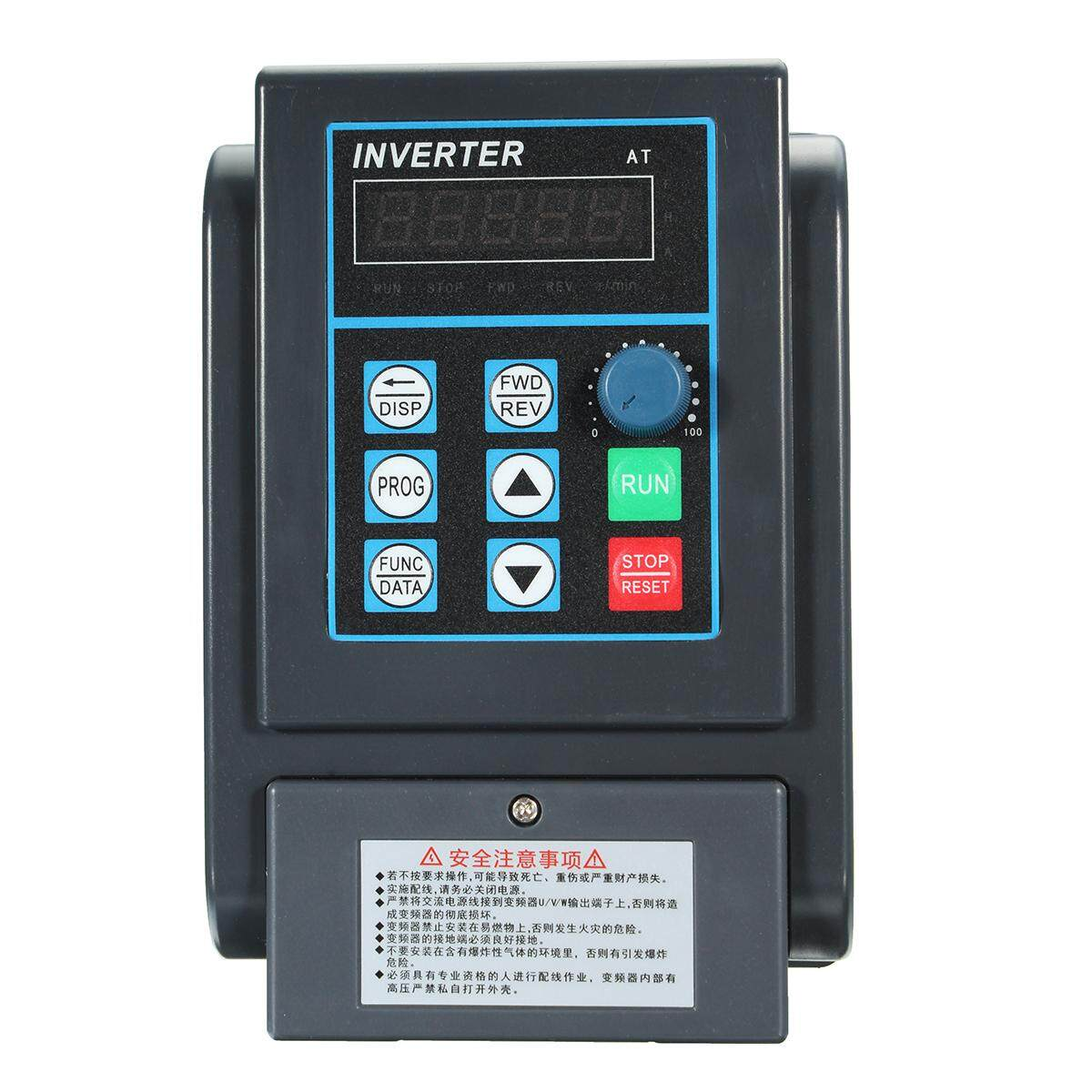 2.2KW 3HP Variable Frequency Drive Inverter 220V Single To 380V 3 Phase CNC VFD