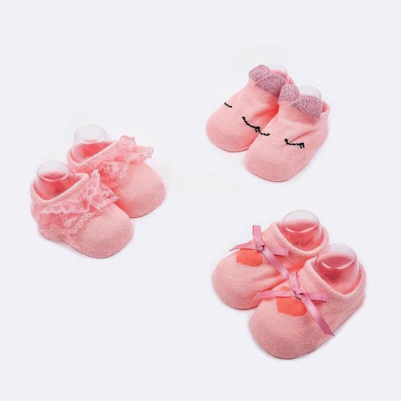 Rp 180.000 3 Pcs/lot Katun Animal Bayi Bayi Kaus Kaki untuk Bayi Baru Lahir Perempuan Anak Laki-laki Non-slip Bayi Jiayiqi untuk Hadiah ...