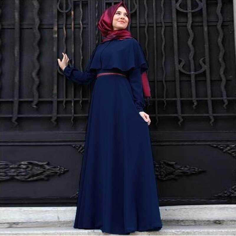f704f85051 Vigo Women Abaya Islamic Jilbab Arab Clothes Muslim Long Sleeve Maxi Dress  Cloak Kaftan - intl