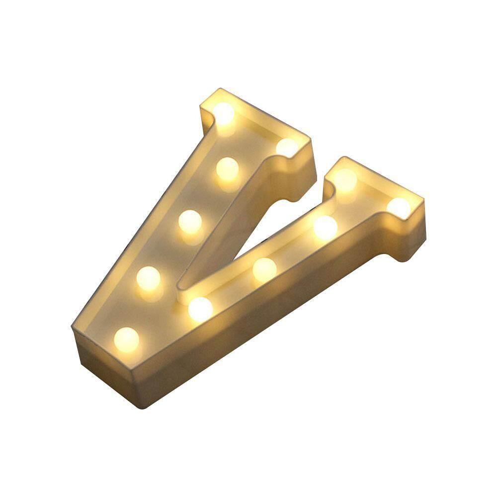 XinNing LED Marquee Letter Lights Alphabet Light Up Sign Decoration For Indoor WALL Festival Party Wedding Holiday Window Display Light