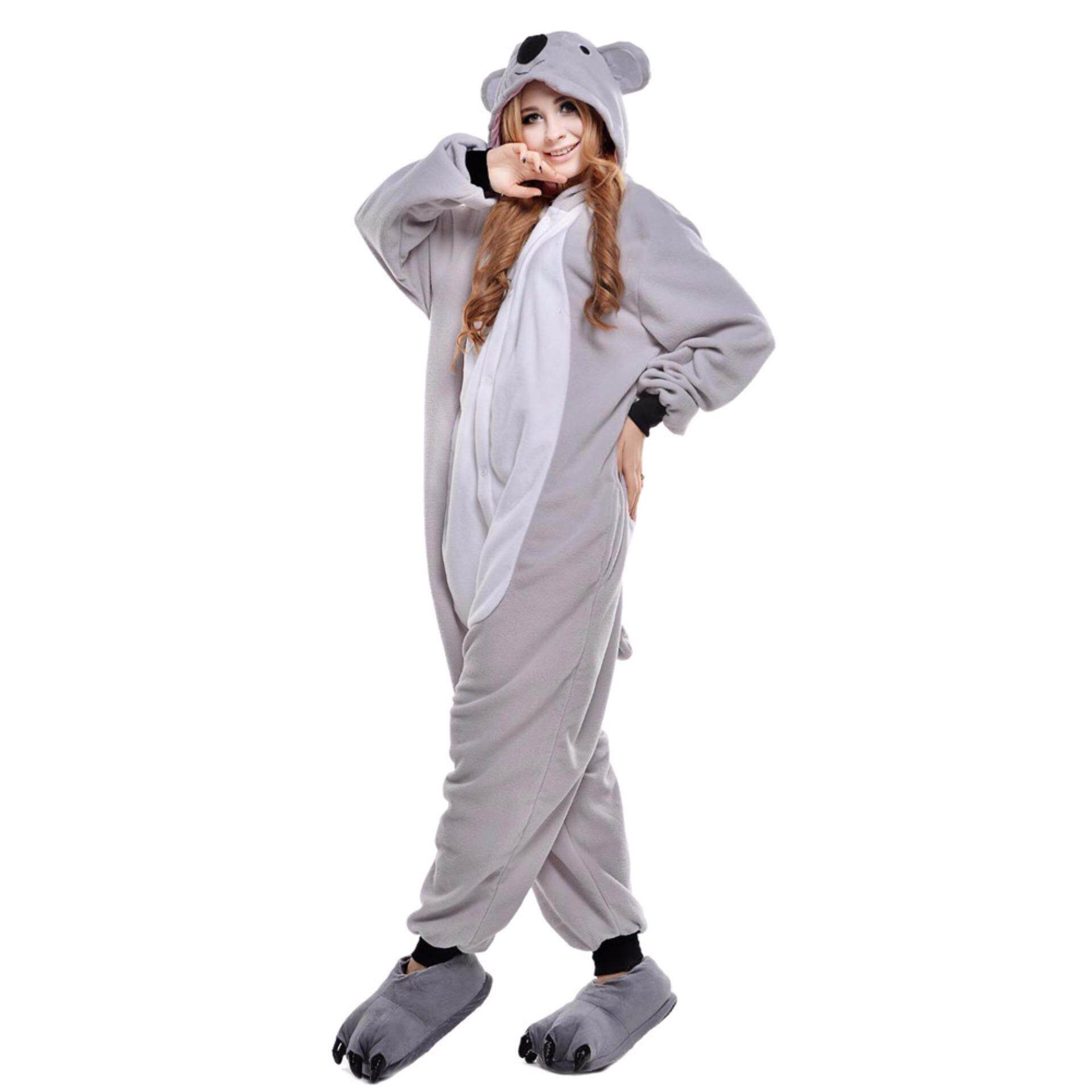 Best Rated Unisex *d*lt Cosplay Pyjamas Pajamas Koala Animals Onesie Costumes Intl