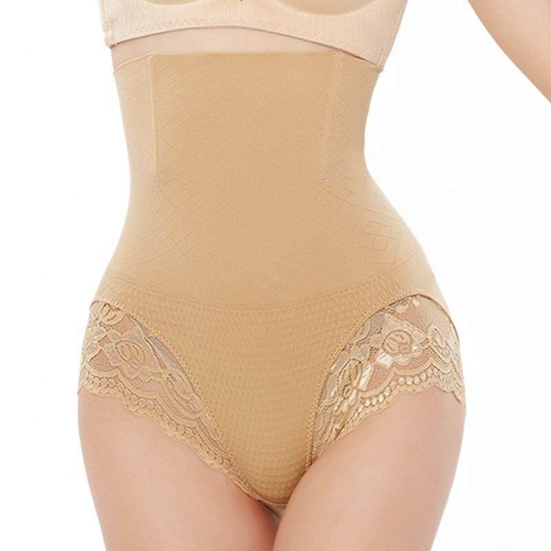 Bolster Store 3D High Waist Lace Firm Tummy and Hips Lifting Panties Seamless Shapewear Shaper Wanita Slimming underwear Panties