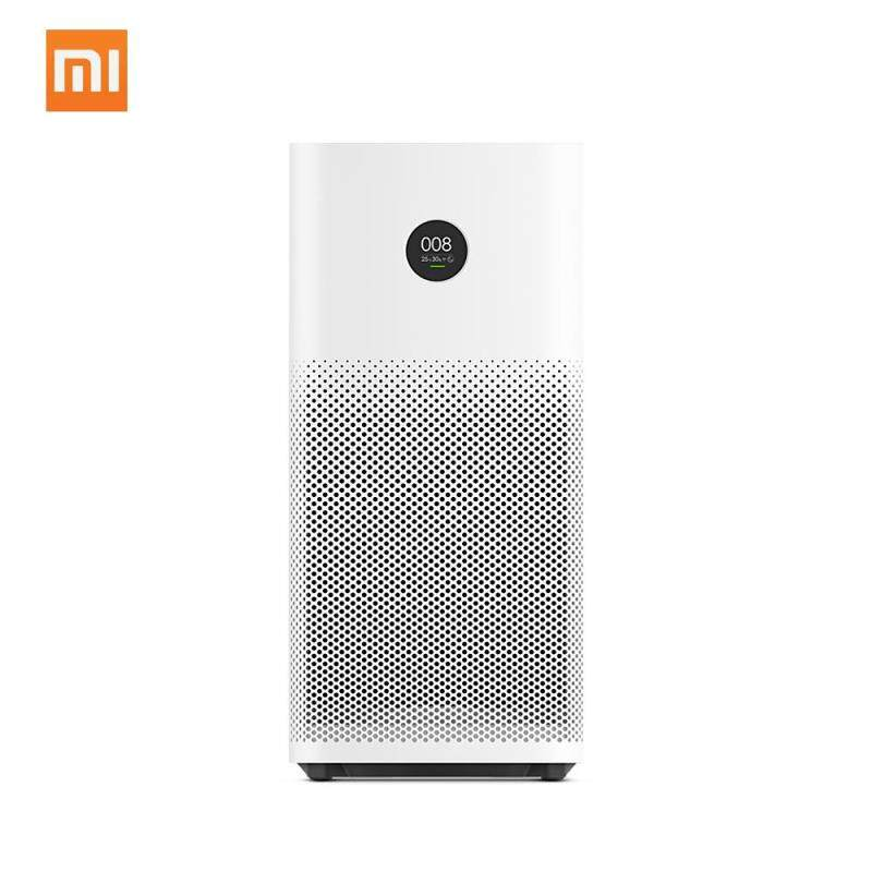Original Xiaomi Smart Air Purifier 2S OLED Display Mi Home APP Remote Control Energy-saving Smell Smoke Cleaner Home Office Air Purifiers - intl Singapore