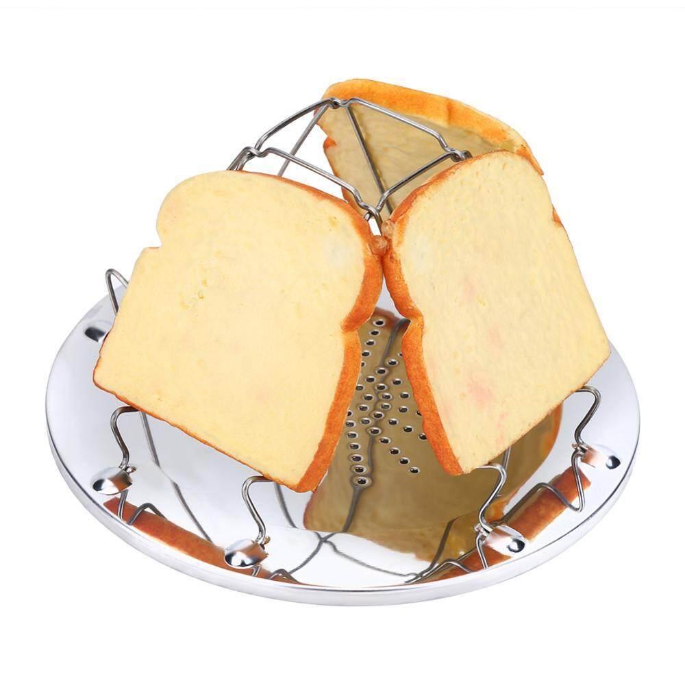 Shanyu 1 PC Anti Karat Lipat Lipat Toast Roti Panggang Rak untuk Piknik Luar Ruangan Berkemah-Internasional