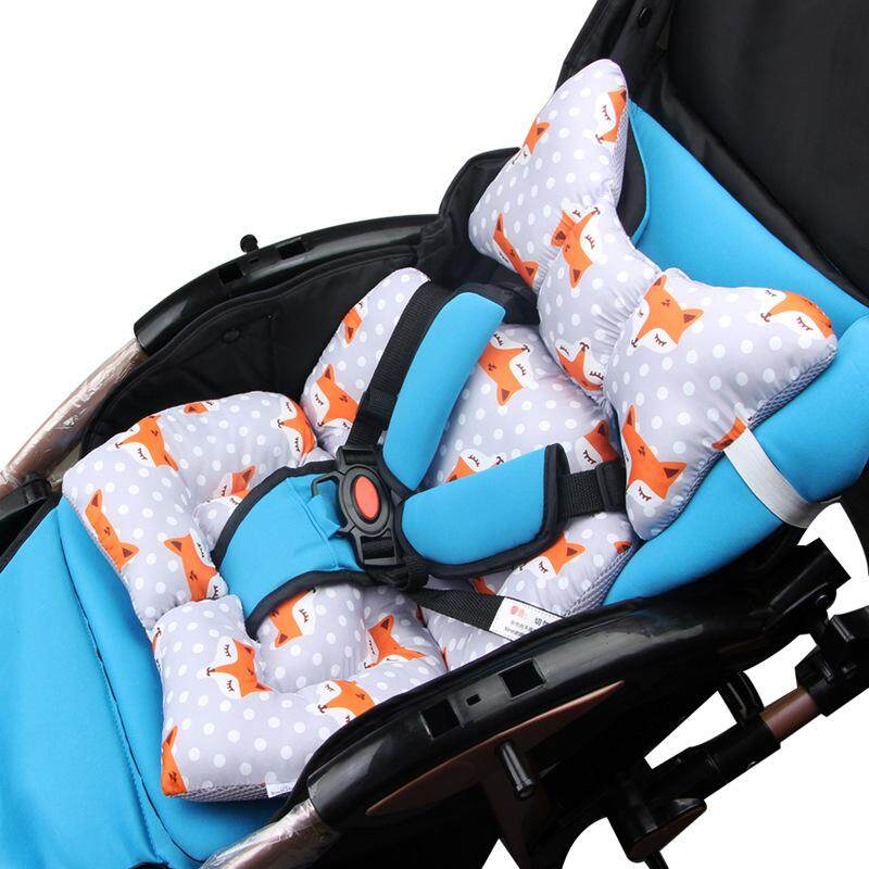 Strollers Accessories Baby Soft Stroller Pad Car Seat Warm Cushion Mat Mattresses Pillow Cover Child Carriage Cart Thicken Pad Trolley Chair Cushion