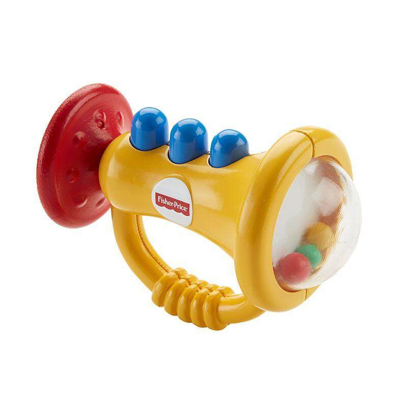[Fisher-Price] New Born Teethe n Rattle Trumpet toys for girls