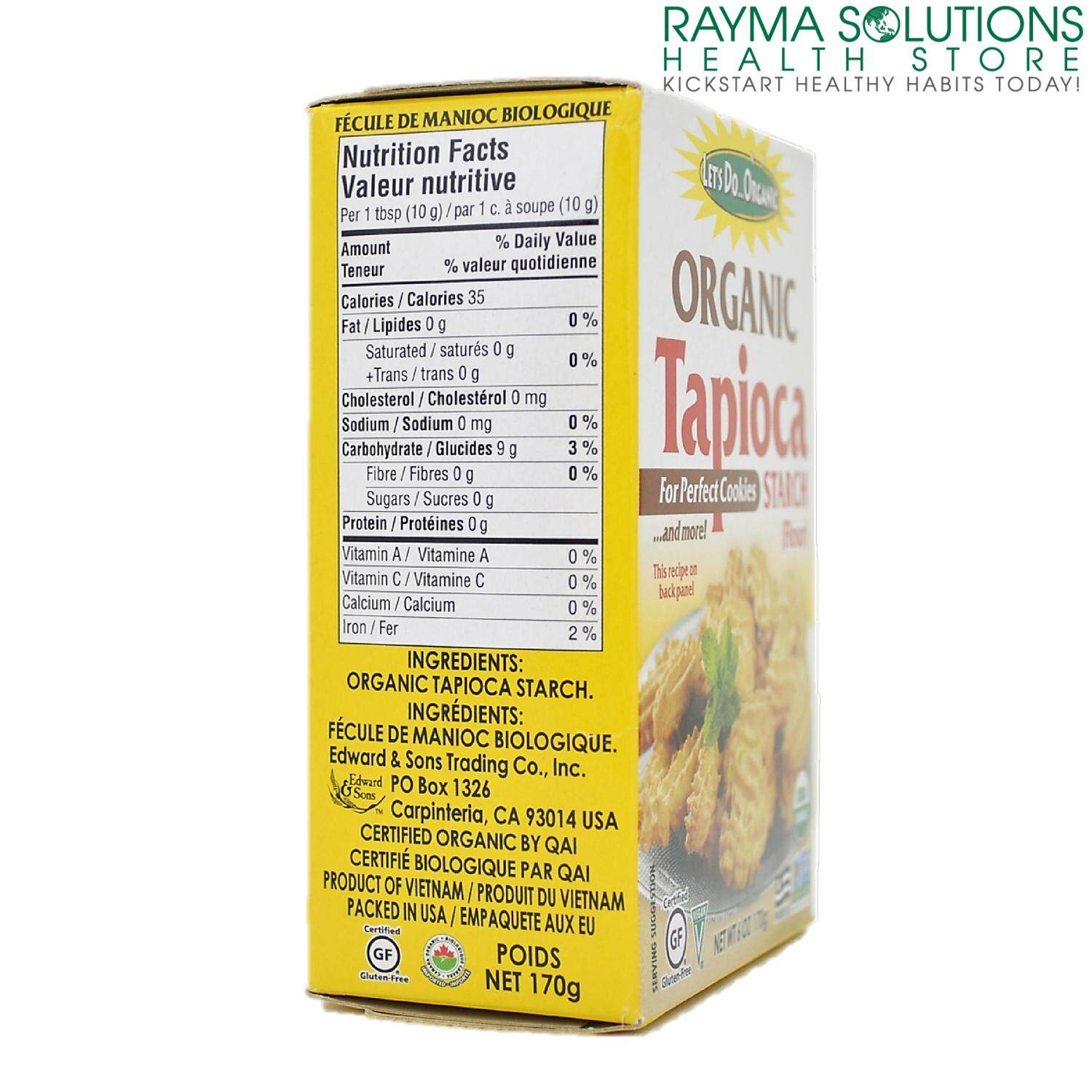 LET'S DO...ORGANIC Tapioca Gluten Free Starch 170g
