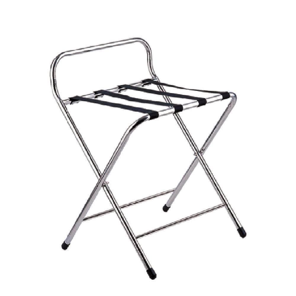 S.Steel Folding Luggage Stand FLS-700/SS (Item No:G01-205)