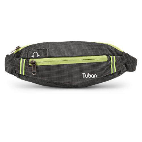 Tuban Sports Water Resistant Mini Fitness Equipment Small Belt Bag (GRAY)
