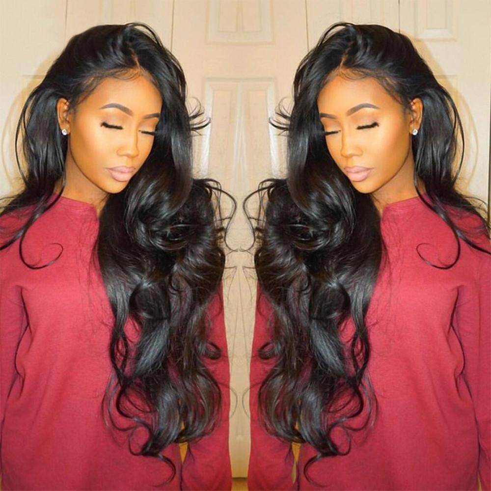 Curly Wig Glueless Full Lace Wigs Black Women Indian Remy Human Hair Lace Front Erpstore - intl
