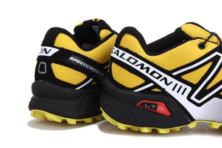 ... Asli Salomon SPEEDCROSS 3 Jejak Lari Shoe Kecepatan Silang 3 CS Daki  Gunung Sepatu Modis Luar e9eb1eded7
