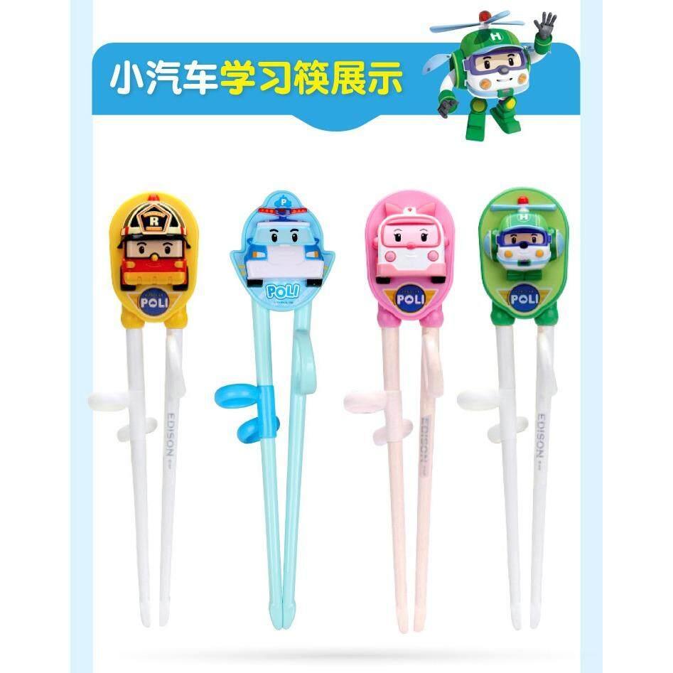 Features Edison Robocar Poli Chopsticks Right Handed Dan Harga Pororo 5