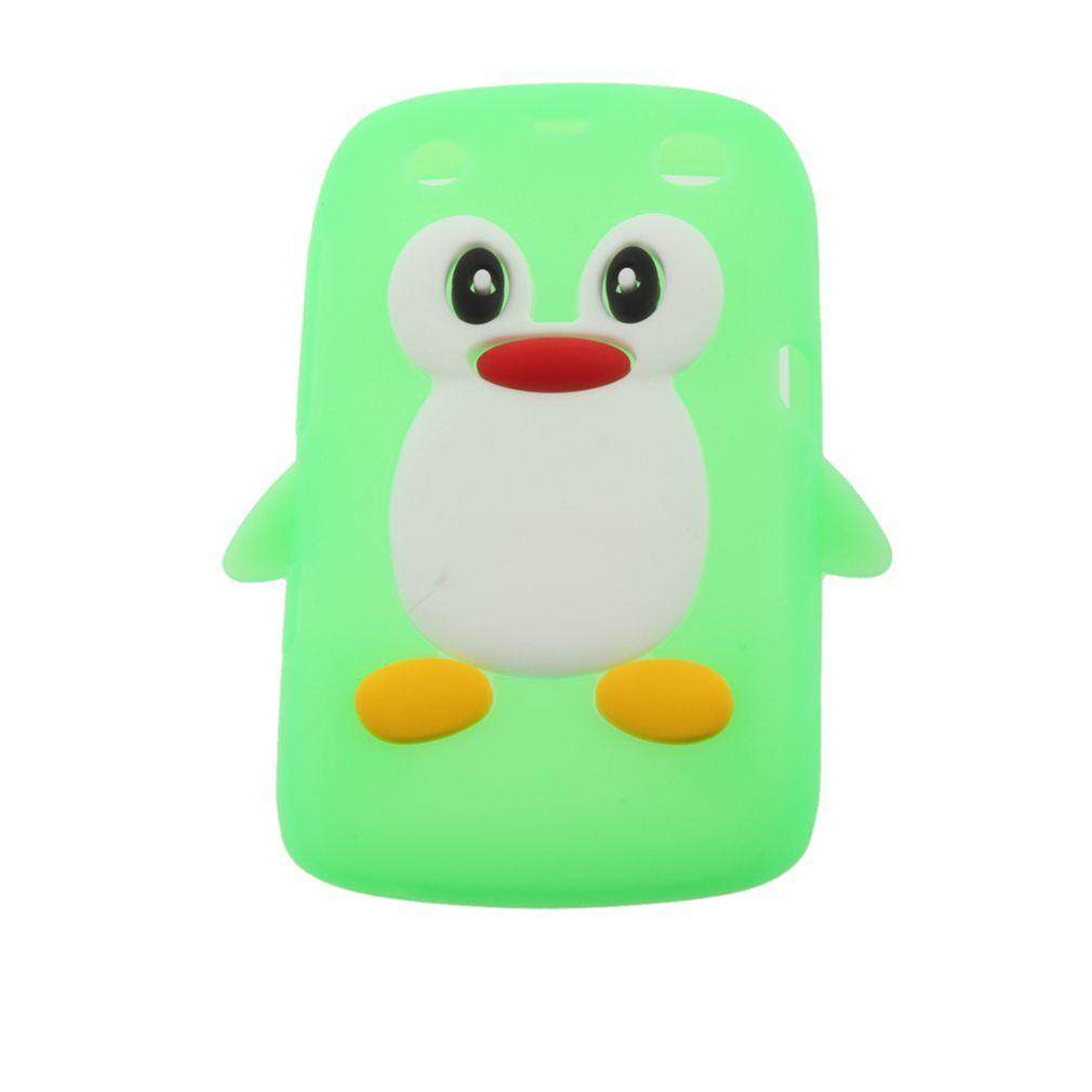 USTORE 3D Penguin Shape Silicone case cover for Blackberry 9360 /9350 /9370/Curve PT163 - intl