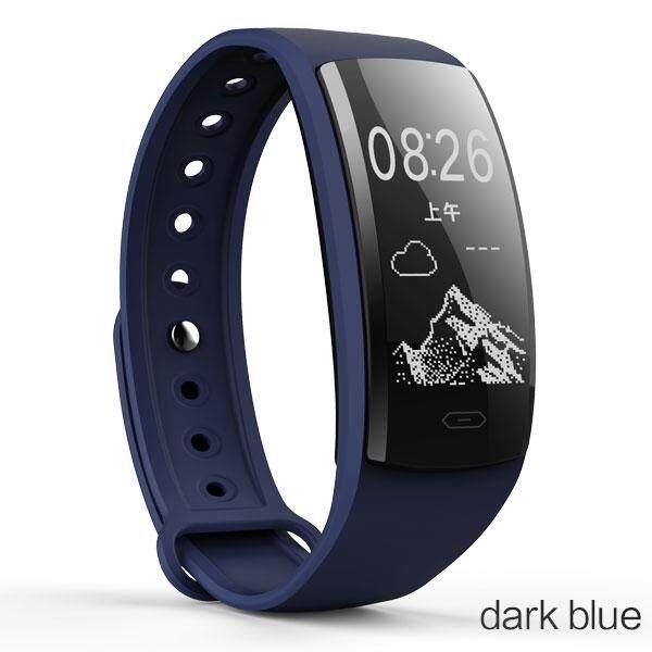 Boamigo Jam Pintar Bluetooth Smart Pedometer Gelang Gelang Kalori Detak Jantung Pengingat Pesan untuk IOS Android Ponsel