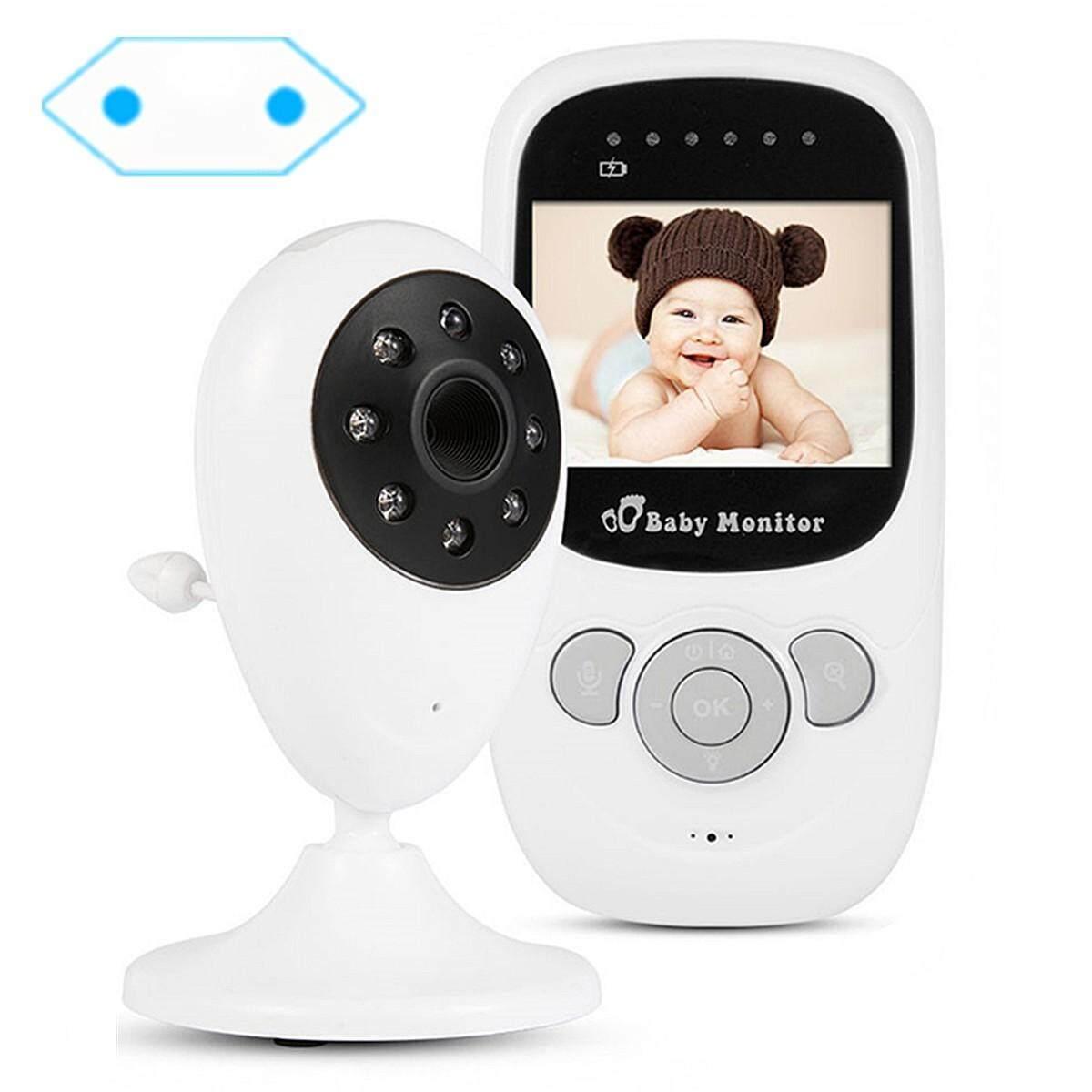 2.4 Inch Wifi Nirkabel Peliharaan Bayi Monitor Dua Arah Audio Malam Vision Alarm Kamera Uni Eropa Steker-Internasional