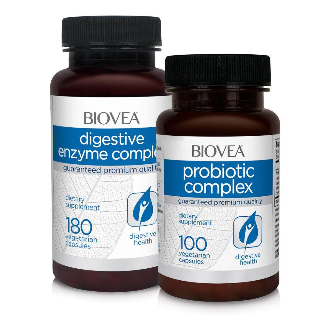 DIGESTIVE ENZYME COMPLEX & PROBIOTIC VALUE PACK