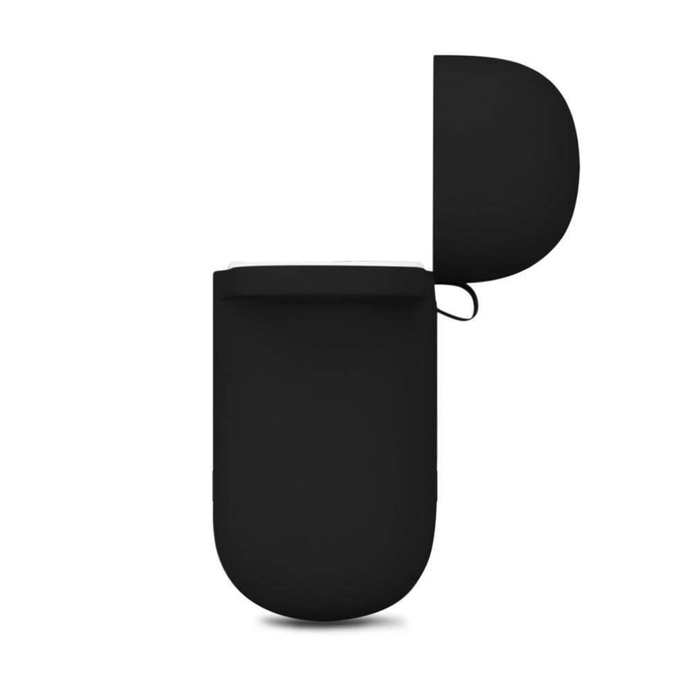 Detail Gambar HOSdog Soft Silicone Cover For Apple Airpods Waterproof Shockproof Protector Case Sleeve Pouch For AirPods Earphone With Hook Terbaru