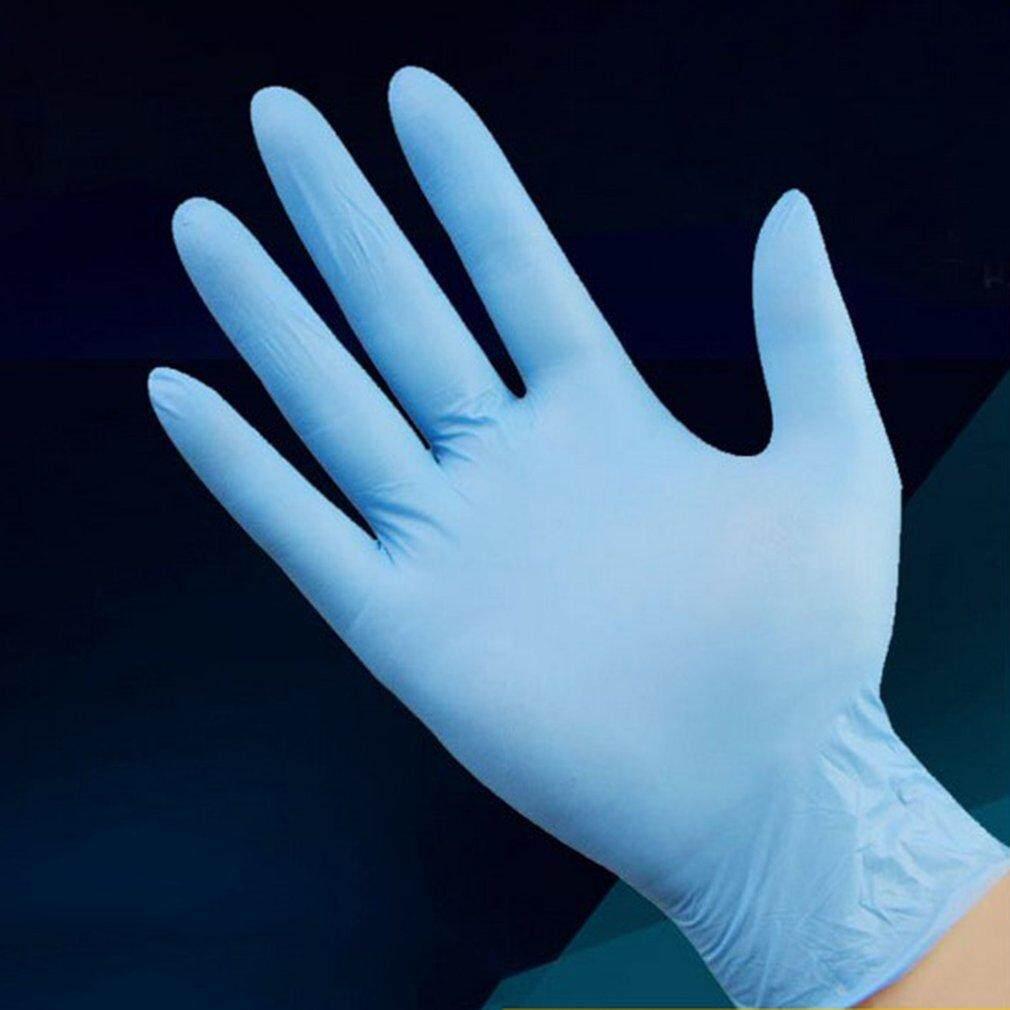 Catwalk Nitrile Disposable Gloves Wear Resistance Chemical Electronics Food Gloves