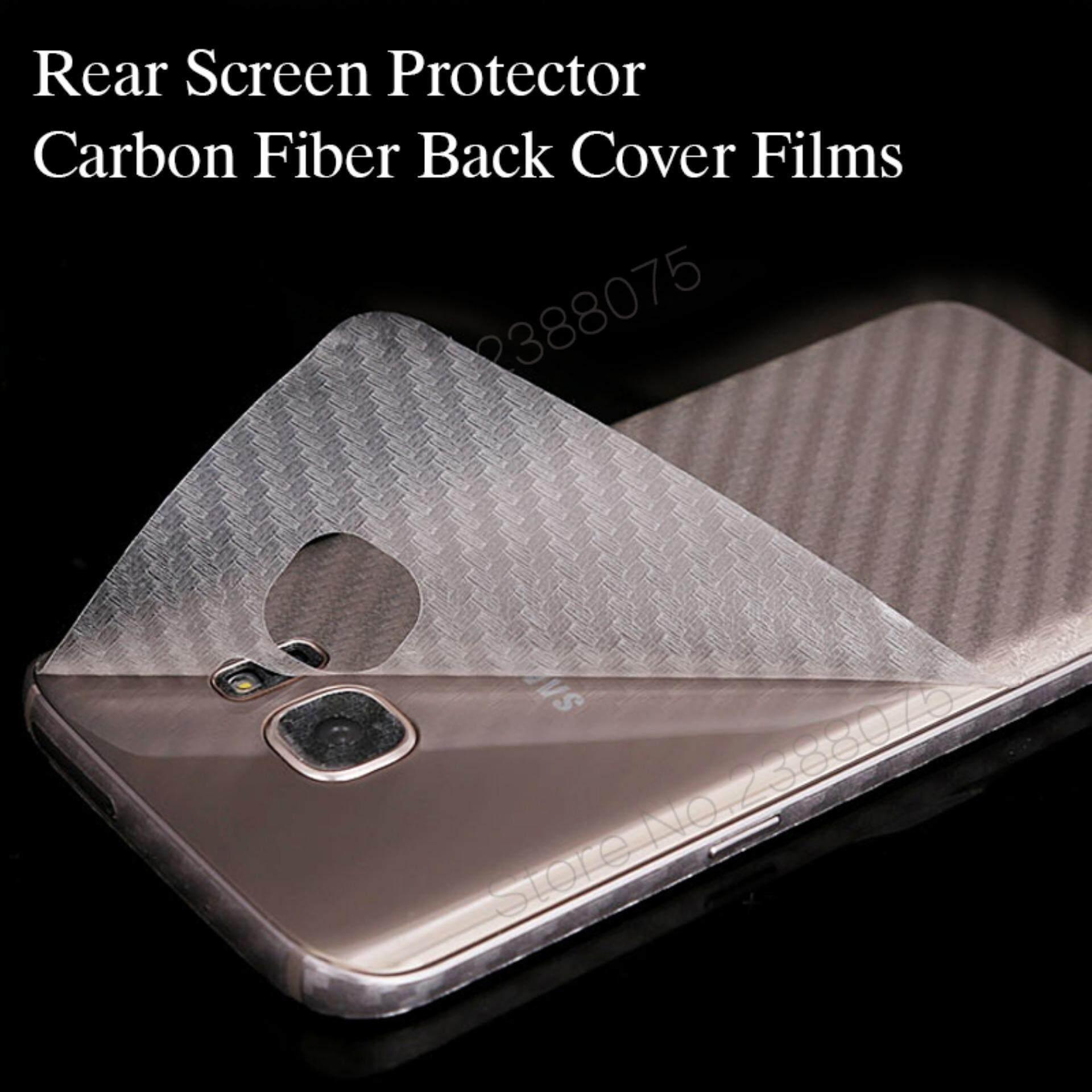 Features Luxury 3d Carbon Fiber Transparent Back Cover Screen