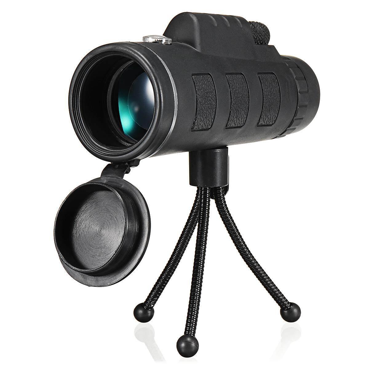 40X60 Luar Ruangan Tunggal Mini HD Bermata Satu Ponsel Kamera Lensa Teleskop -Internasional