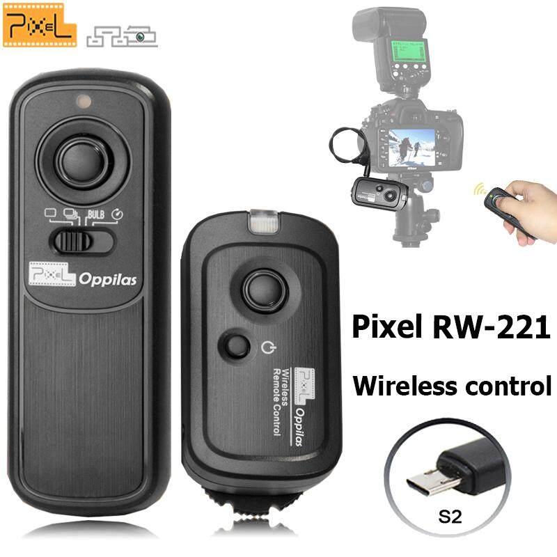 Pixel Oppilas RW-221/S2 Nirkabel Pelepasan Rana Pengendali Jarak Jauh untuk Sony A7II A77II A5000 RX100II A9 A99II A3000 A6300 A6500