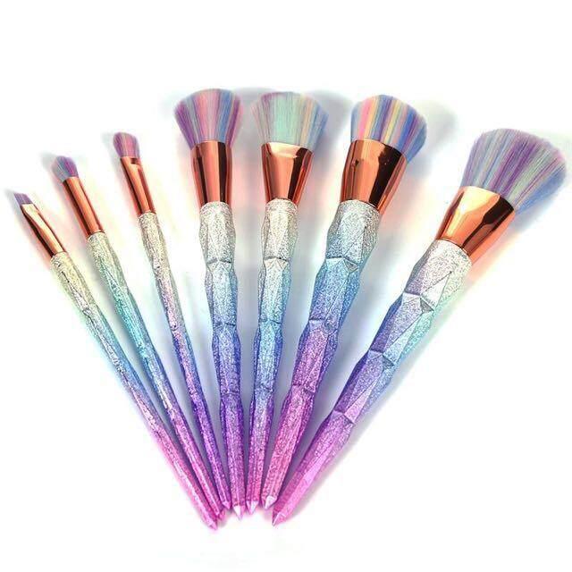 UNICORN Makeup Brush Set 7pcs  1.jpg