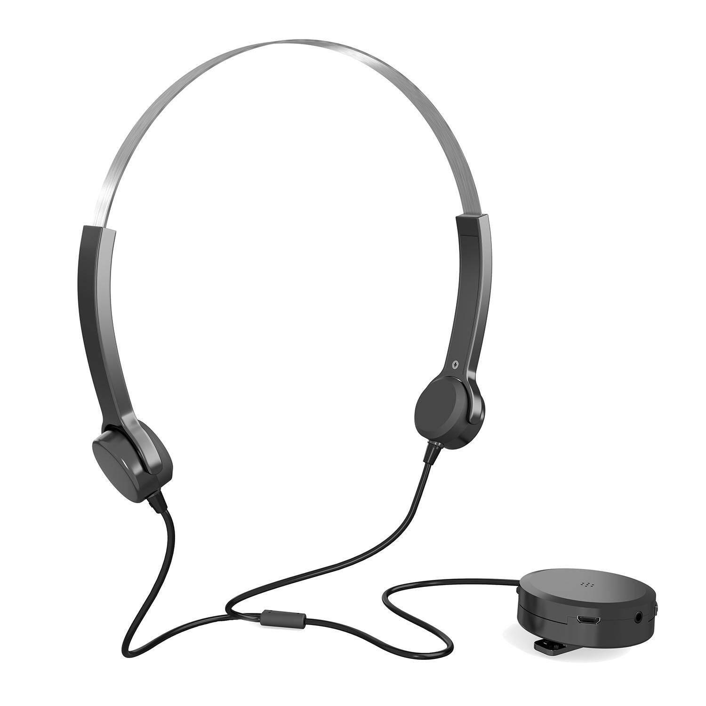 BORUISHIPIN Optimum Bone Conduction Headphones Hearing Aids Bone Conduction Headset Audiphone Deaf Aid