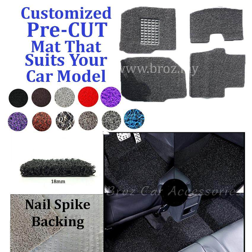 BMW X5 18MM Customized for PRE CUT PVC Coil Floor Mat Anti Slip Carpet