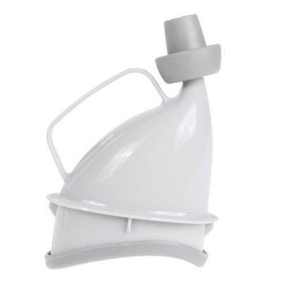 Portable Multifunctional Outdoor Female Stand Emergency Urinal (WHITE)