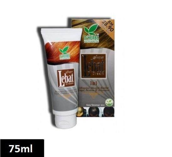 Dherbs Super Lebat Cream 3in1 75ml