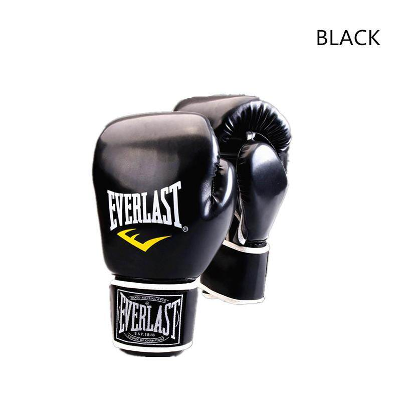 MMA Adult Professional Fighting PU Leather Thicken Boxing Gloves Taekwondo