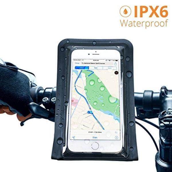 Satechi® Pro Ridemate Sepeda Dudukan (Anti-Air Hitam Seri 900) untuk iPhone 6 Plus, 6 5 S, 5C, 5, S, HTC EVO, Perhubungan 6 P, inspire 4G, Sensasi, Droid X, Luar Biasa, 3, Samsung Epic, Galaksi S4, s5, S6, S6 Sisi-Internasional