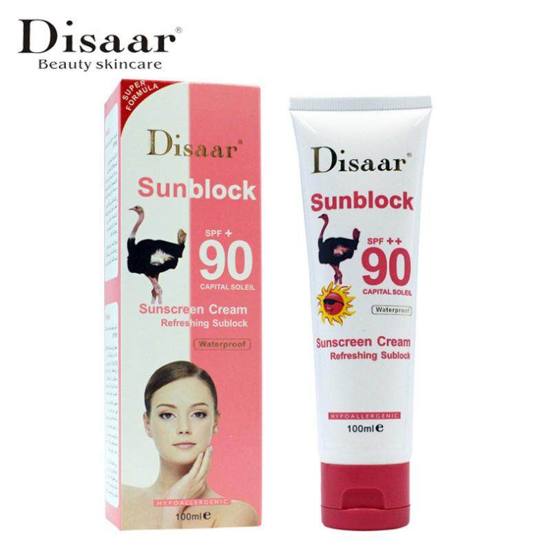 SPF90++ Moisturizing Suncreen UV Radiation Sun Protection Whitening Sunblock Lotion Skin Care - intl