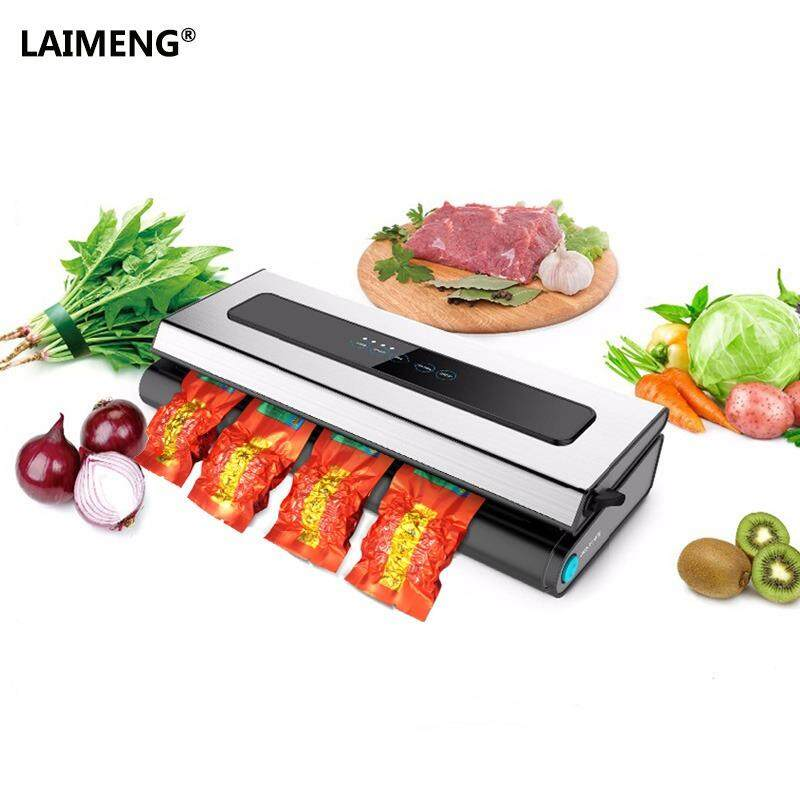 Household Automatic Vacuum Sealer Fresh Food Saver Vacuum Packaging Sealing Machine With Suction Pipe Vacuum Bags Intl Lower Price
