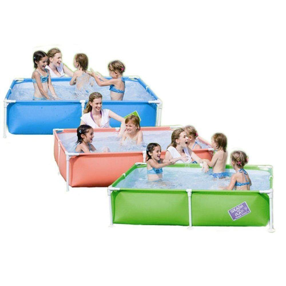 Intex mini frame pool (BLUE) for kids
