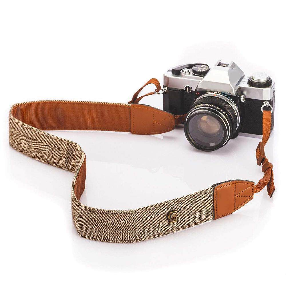 Chux Camera Shoulder Neck Vintage Strap Belt for Sony Nikon Canon Olympus Panasonic Pentax DSLR SLR