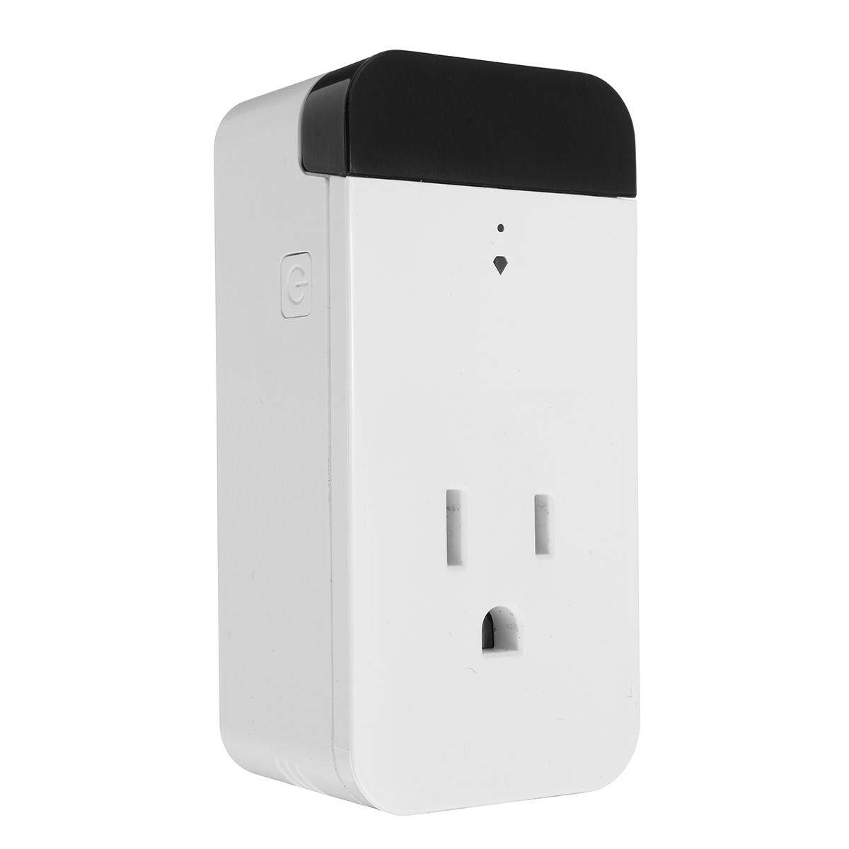 US 110-130V Infrared Smart Socket 16A 2000W WIFI Amazon Alexa Voice APP Control - intl