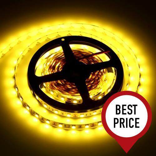 5M 300 LEDS SMD 5050 FLEXIBLE STRIP LIGHT FOR DECORATION (WARM WHITE LIGHT)