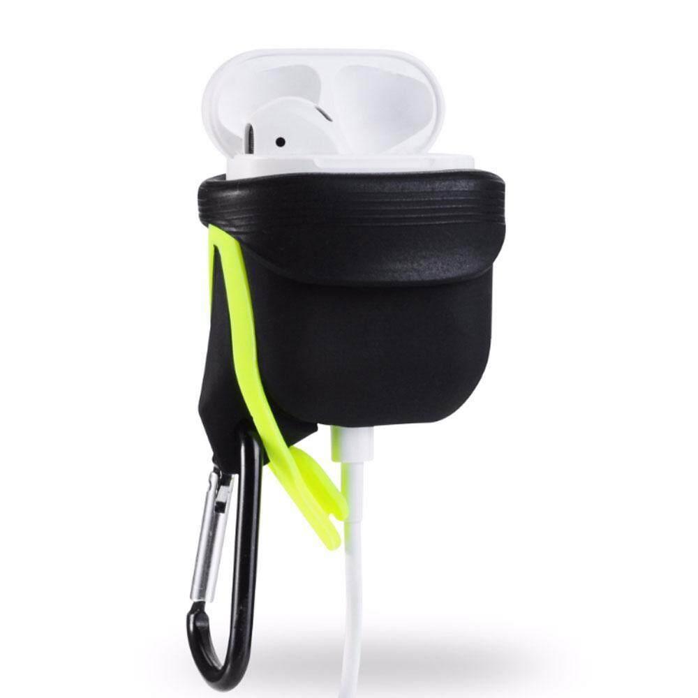 OEM Silikon Airpods Sarung Cover Pelindung Ramping untuk Apple Airpod Earphone-Internasional