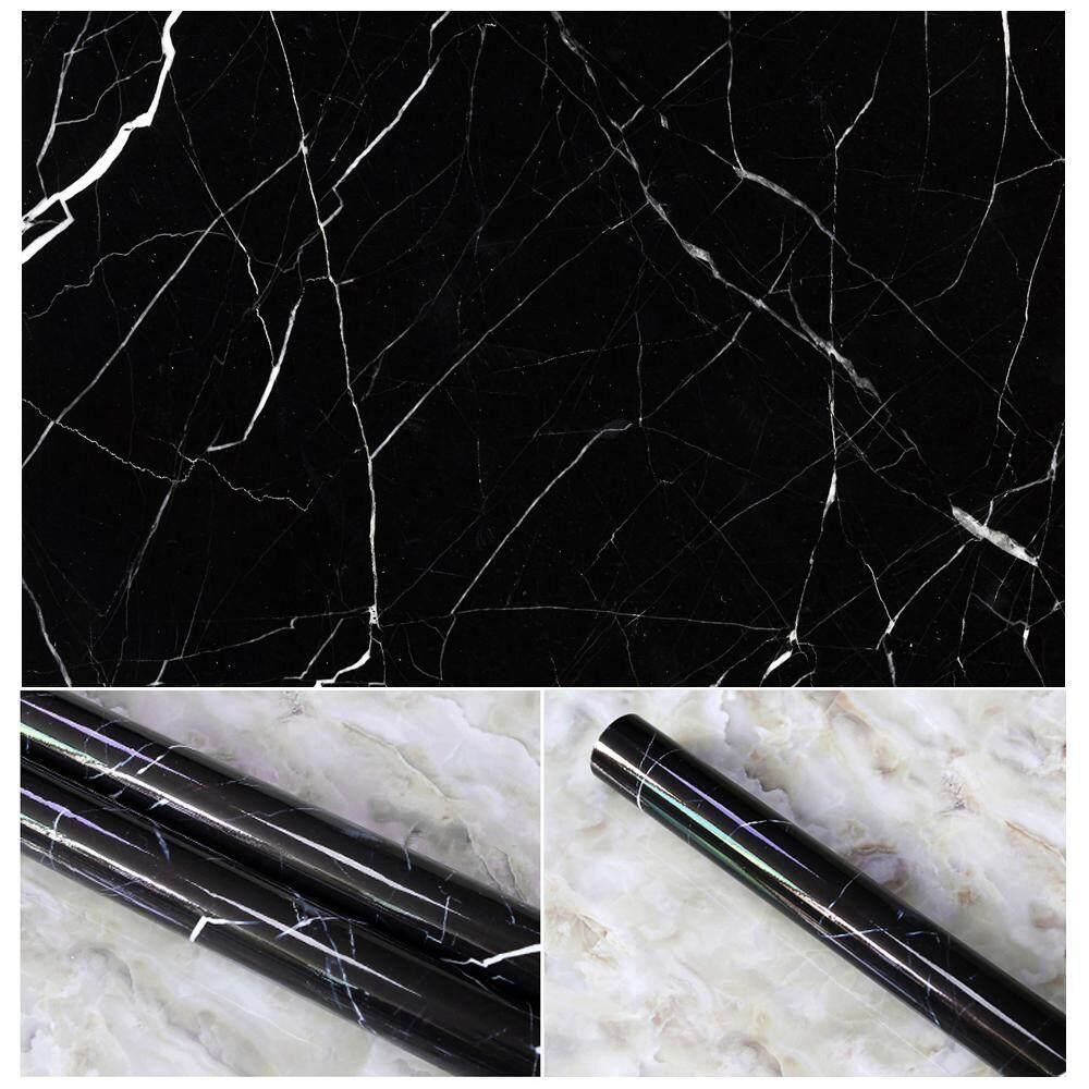 Yueshunbuha 10 Warna Granite Melihat Marble Efek Hubungi Kertas Film Vinil Diri Perekat Kulit-Tongkat Penghitung Dekorasi TERBAIK UNTUK meja Dapur, lemari, Kamar Mandi Dinding Stiker-Internasional