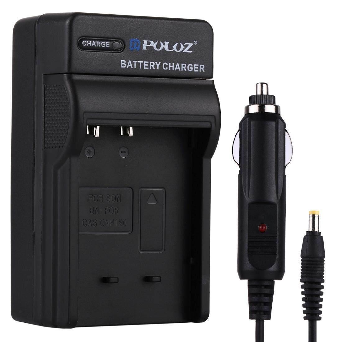 Puluz Kamera Digital Pengisi Daya Baterai Mobil UNTUK Casio CNP120-Intl