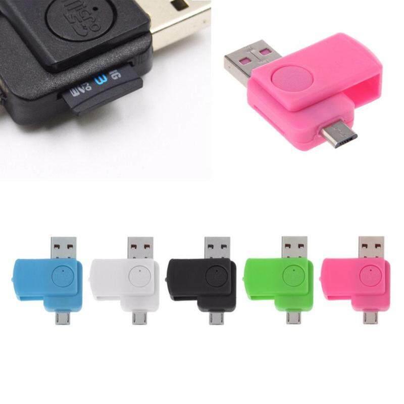 Bảng giá 480 Mbps USB 2.0 micro USB TF / microSD card OTG adapter for Android phone - intl Phong Vũ
