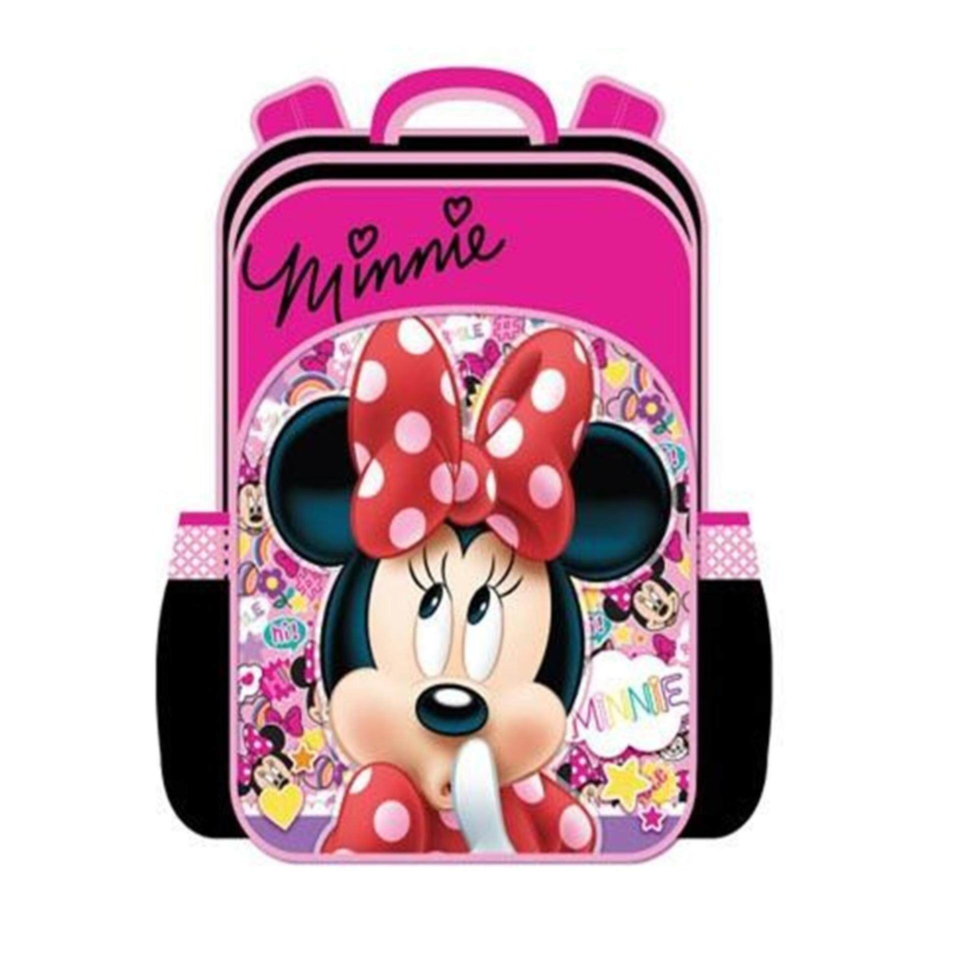 Disney Minnie Primary School Bag Backpack - Pink Colour
