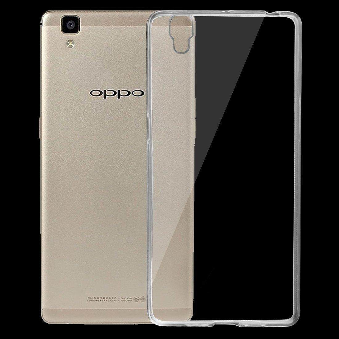 For OPPO R7s Ultra-thin Transparent TPU Protective Soft Case Rubber Silicone Cover - intl