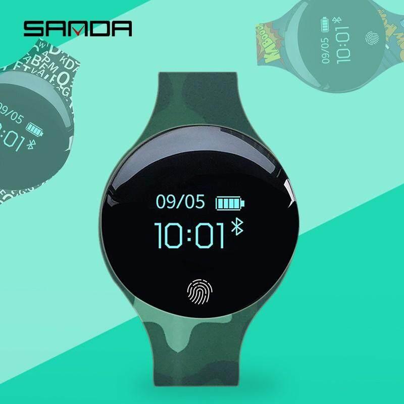 Sanda Sd02 Ios Android Smart Watch Waterproof Ip65 Bluetooth Sport Smartwatch Men Women Watches Fingerprint Boot Reloj Inteligente