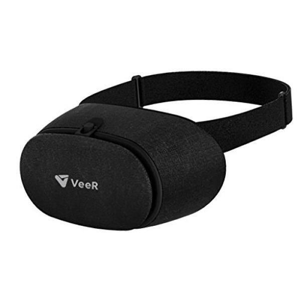 Veer Kain 3D Headset Vr, Hampir Realitas Kacamata, Kacamata VR dengan HD Lensa, Buatan Tangan Kain, kompatibel dengan Ponsel Pintar iPhone dan Android Dalam Waktu 4-6 Inches Layar-Internasional