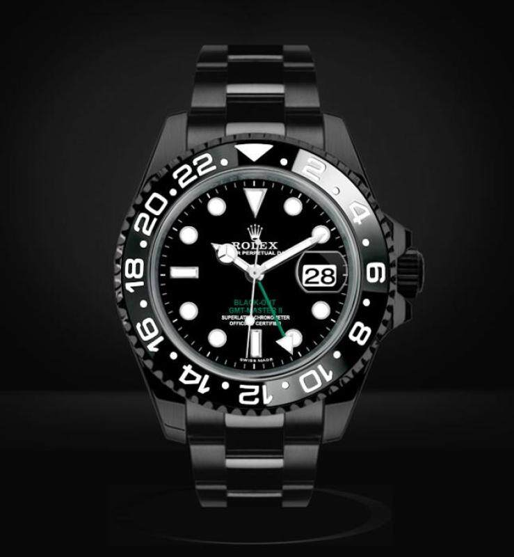Rolex Gmt Master II Blackout (Black) Malaysia