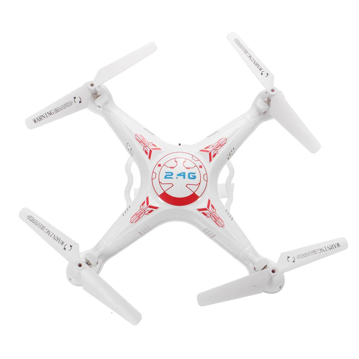 X5C-1 2.4G 4-Axis HD 2MP Kamera Foto Video Drone RC Quadcopter W/Lampu LED Putih